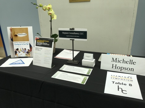 Hopson Consultancy, LLC Exhibit-Table
