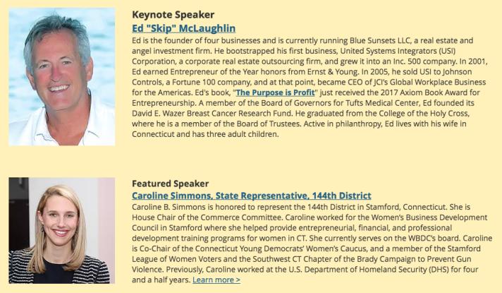 Keynote Speaker & Featured Speaker